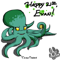 Evans Octopus by InuMimi