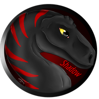 Beta Shadow - OC Badge by WhenBooksFly101