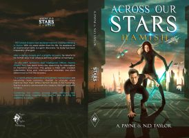 Book Cover - Across Our Stars - Hamish by MirellaSantana