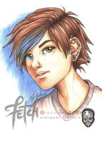COPIC sketch15 CELE by FranciscoETCHART
