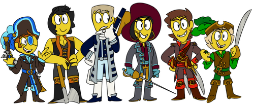 bring on the pirates by glowing-galaxies