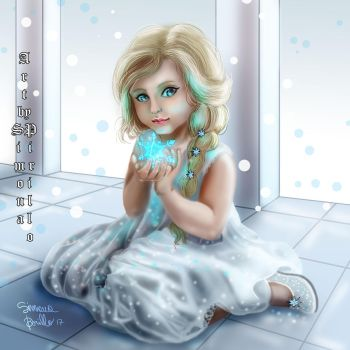 Elsa frozen  by rilideja