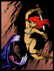 Red Sonja Slayer by Bruce Timm by DrDoom1081