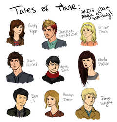 who are these people and why are they in a square? by Break-the-Sky
