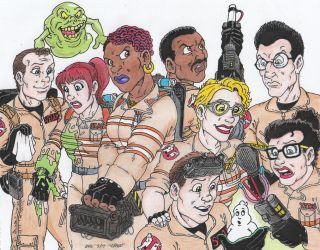 Ghostbusters Teams by Crash2014