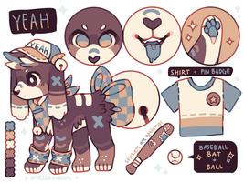 + sporty bellpup (auction) || closed + by MellowKun