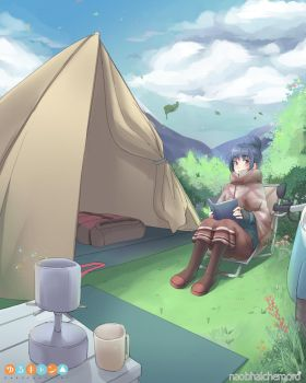 Yuru_Camp_04222018 by naobhalchemoro