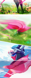 Hyper Light Drifter: Afterlife by steelsuit