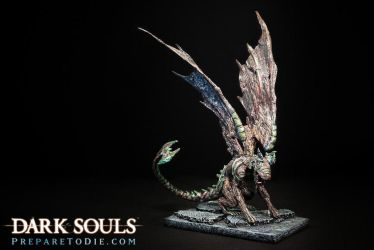 Dark Souls Gargoyle Sculpture by futantshadow