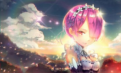 [fanart] RAM Re:ZERO by moeqit