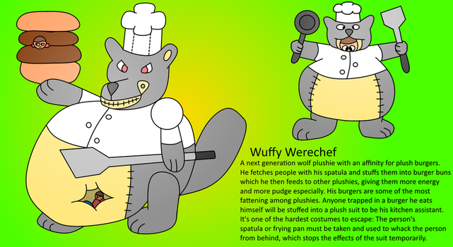 Wuffy Werechef by Ephraim225