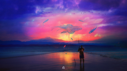 A good Day to Catch by ANWARIKA-GFX