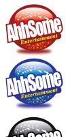 Ahhsome Entertainment logo by owdesigns