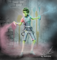 PORTER GEISS -Monster High by Aayov