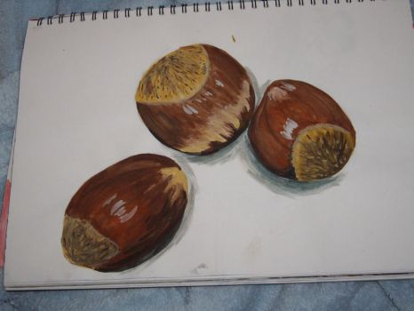 Walnuts or conkers by SoneaSandre