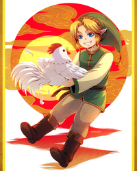 +TLoZ-OoT: The year of the Cucco+ by kuraudia