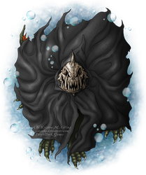 Cloaked Creature for PurpleDuck Games by KMCgeijyutsuka