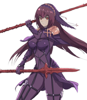 Scathach by 4rca