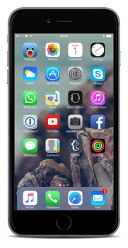 Almost stock iOS 8.4 by Laugend