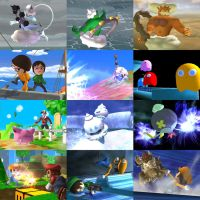 Super Smash Bros Brawl - Various model replacement by SuperBarrio