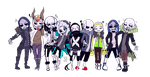 THE LEADERS   UNDERTALE AUS   by Noioo