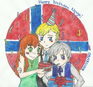 aph: Happy Birthday, Norge! (2018) by LoveEmerald