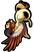 Sphinx Pendant by Flying-Fox