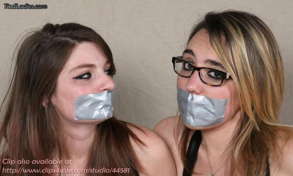 Lana and Alana : Taped. by PhMBond