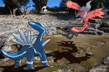 Real Bits - Pokemon Special: Ancient ruins by VictorSauron