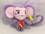 Chuchu Revolutionary Girl Utena Custom Plush  by BeeNerdishCrafts