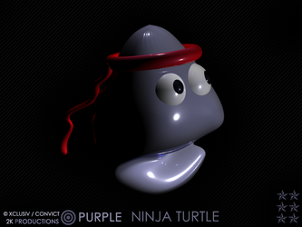 PURPLE NINJA TURTLE by Stylus2k