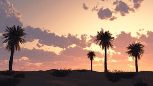Date Palms by FuTzo
