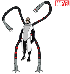 Marvel - Doctor Octopus 2017 by HewyToonmore