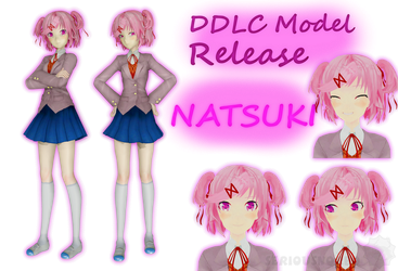 DDLC Model Release - Natsuki by SeriousNorbo