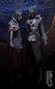 ACsyndicate Jacob and Evie Frye cosplay by RBF-productions-NL