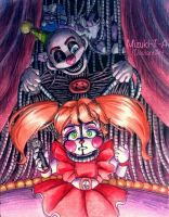 Your show is over / Baby, Ennard FNaF by Mizuki-T-A