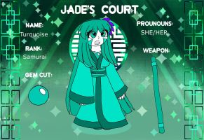 Turquoise - Jade's Court by mytherbale