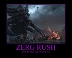 Starcraft II Heart of the Swarm Zerg Rush by Onikage108