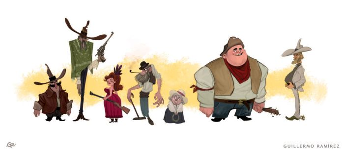 Old West! by GuillermoRamirez