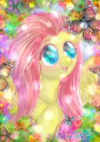 Fluttershy by TofiNuelle