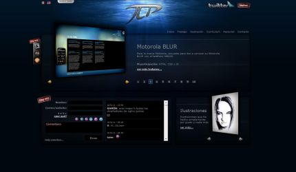 My Personal Website Skin03 by vampipe
