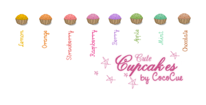 Cute Cupcakes. by CocoCue