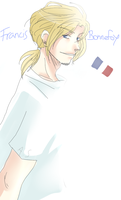 APH:: Francis white by OCibiSuke