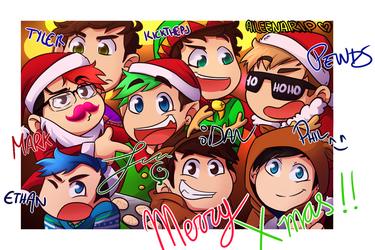 Happy Holidays you! :D by aileenarip