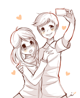 A special selfie by Ipun