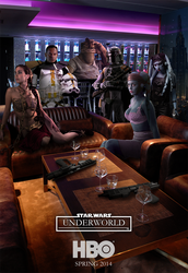 Star Wars Underworld by GrafikInvaders