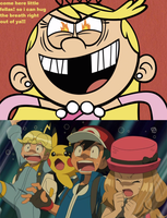 Lola Loud wants Clemont, Ash and Serena by Wildcat1999