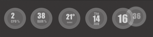clear-vision for rainmeter by chicoray