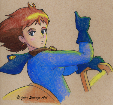 Nausicaa by Fires-storm