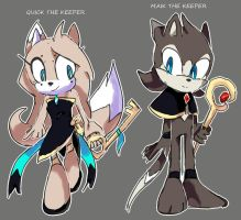 SONIC SKYLINE: The Keepers by QuiickyFoxy